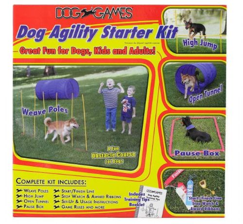Active Dog Agility Starter Kit - Cost Effective Training Equipment